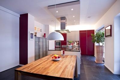 オシャレなアイランドキッチン:大阪のマンションリフォーム・リノベーションの設計
