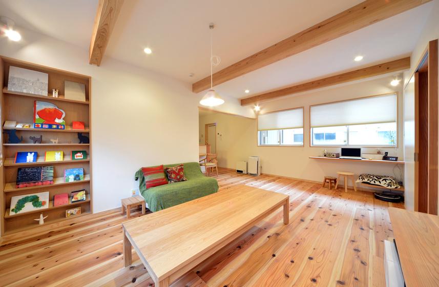 絆を深めるリビングへリフォーム:大阪のマンションリフォーム・リノベーションの設計