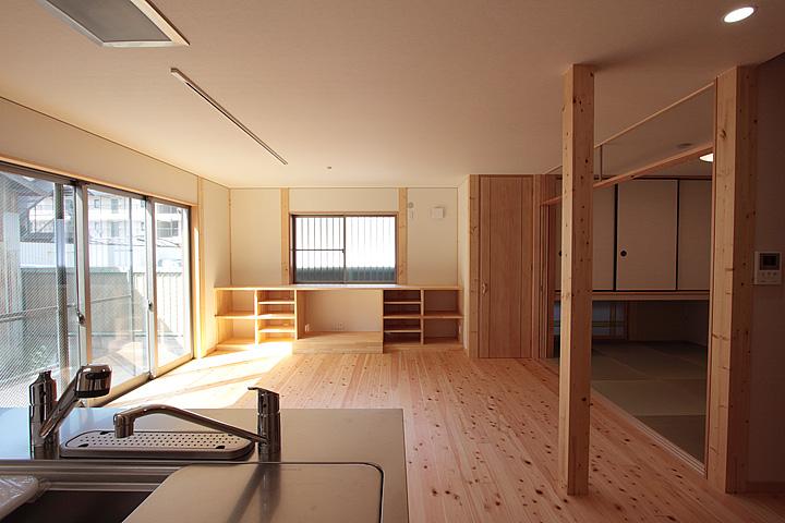 開放感のある空間づくり:大阪のマンションリフォーム・リノベーションの設計